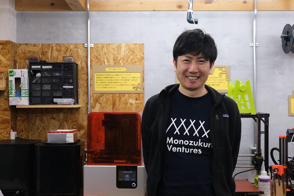 株式会社Monozukuri Ventures 代表取締役 牧野 成将